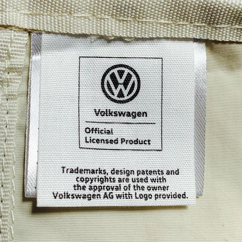 VW ポケッタブル エコバッグ ・ベージュ (フォルクスワーゲン)
