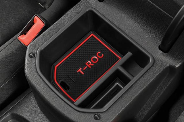 VW T-ROC セカンダリ ストレージ(小物入れ)・レッド