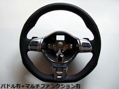 VW純正 GOLF6 GTI ステアリング