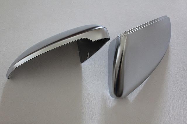 VW GOLF7 R 純正 アルミ調ミラーカバー