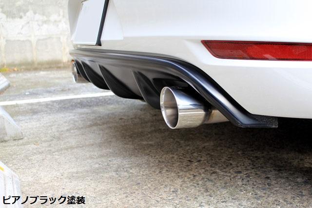 【 スポイラー 】RIEGER GOLF6 GTI  リア ディフューザー