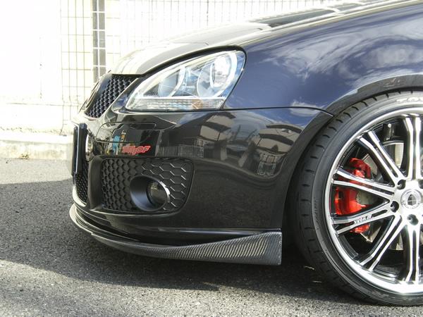 EMU'S GOLF5 GTI フロントスポイラー