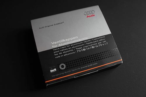 Audi純正 バルブキャップ・アルミ
