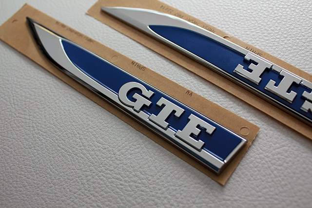 GOLF7 GTE サイドエンブレム