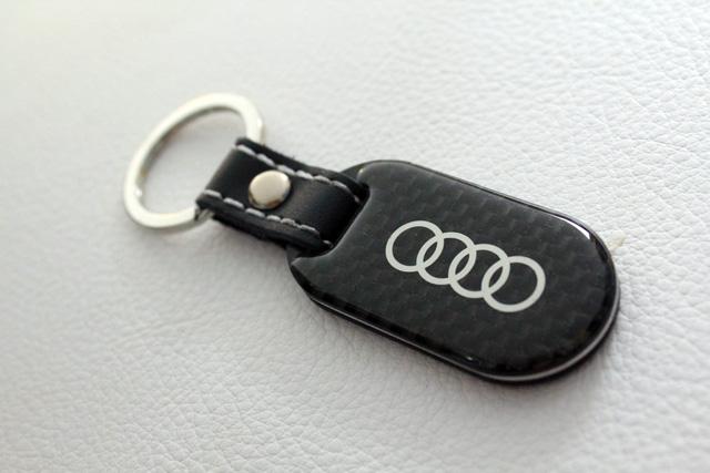 Audi カーボン キーリング