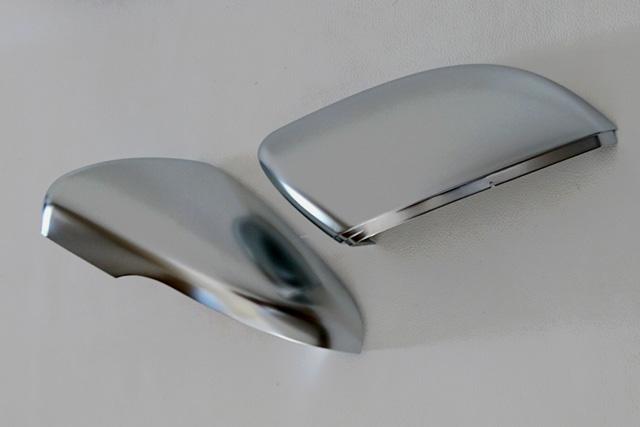 GOLF6/Touran アルミ調 ドアミラーカバー(AAI製)