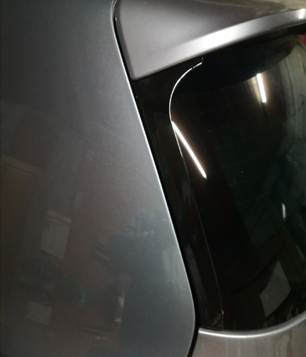 VW GOLF6 GTI/R 用 リアウィンドウ サイドスポイラー(GOLF7 GTIスタイル)