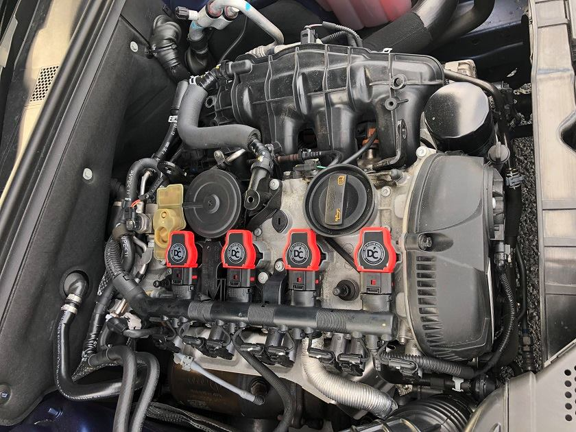 【SALE】DCプラス イグニッションコイル・スタンダード (GOLF6 GTI/Audi A3)