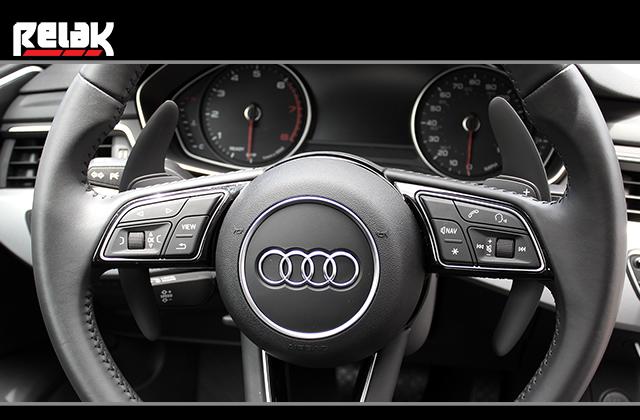 Rtech New Audi サテンブラック パドルシフター