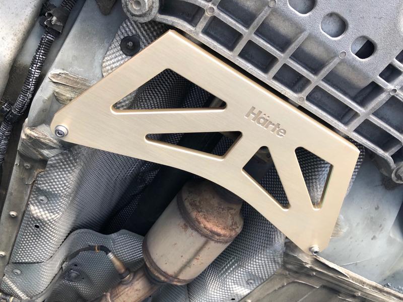 Audi TT/TTS (8J)  リンフォーシングプレート HARTE