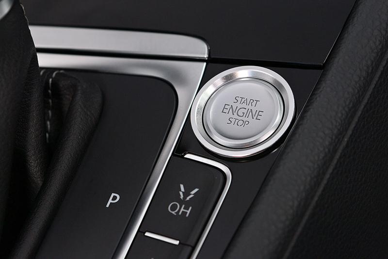 GOLF7系 エンジン スタートストップ ボタン リングトリム・シルバー core OBJ select