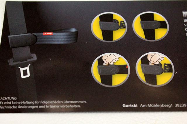 シートベルトサポート(アシスタント)・Gurtski