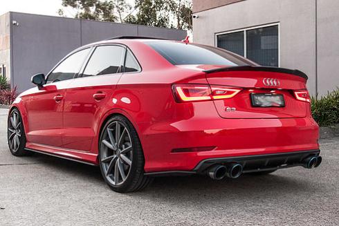 FLOW DESIGNS Audi S3(8V) Sedan リアスパッツ