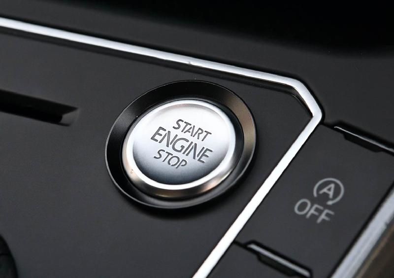 エンジン スタートストップ ボタン リングトリム・ブラック PASSAT/POLO/ARTEON