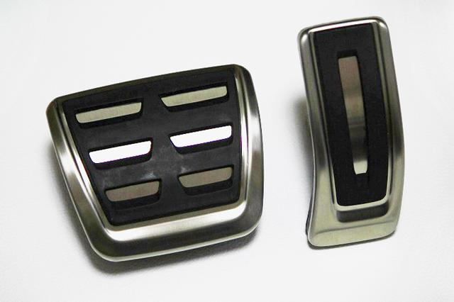 Audi A4(8W)/Audi A5(F5) ステンレスペダルカバー 2pc