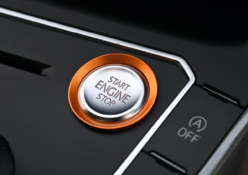 エンジン スタートストップ ボタン リングトリム・ゴールド PASSAT/POLO/ARTEON