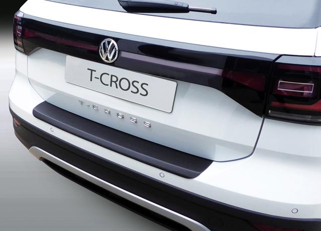 VW T-CROSS RGM トランクガード(リアバンパープロテクター)・カーボン調