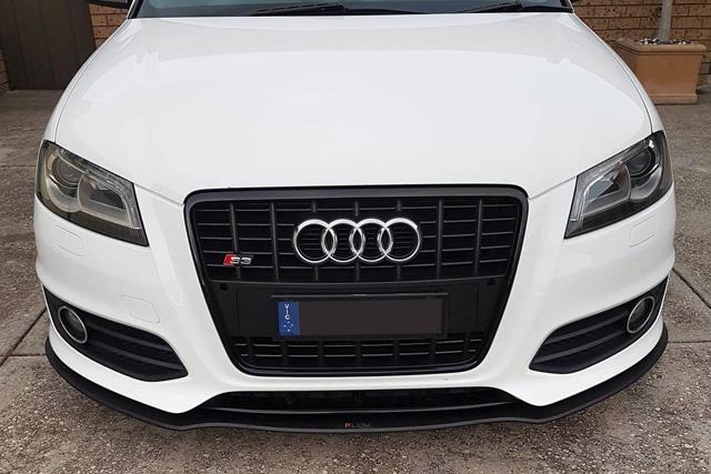 Audi S3(8P) フロントスプリッター