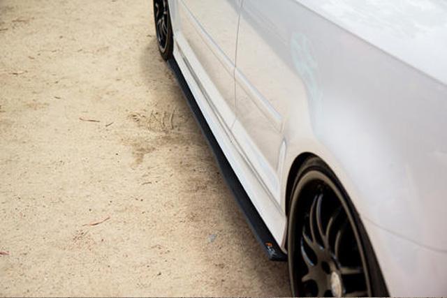 Audi S3(8P) サイドスプリッター