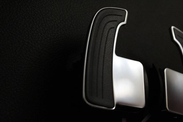 Audi 本国純正 アルミパドルシフター