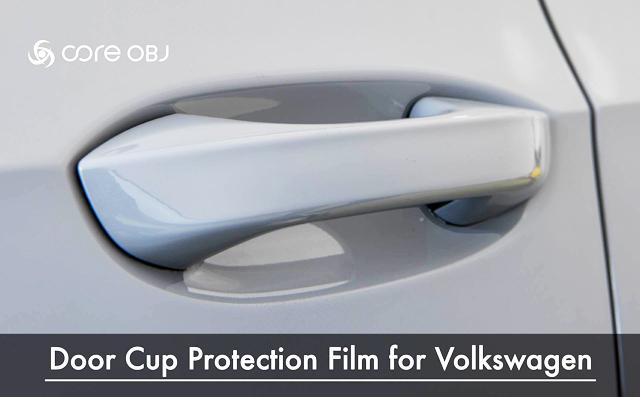 VW GOLF8 ドアカップ プロテクションフィルム ゴルフ8