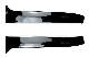 ゴルフ7(7.5) バリアント R-LINEスタイル リアウィンドウ サイドスポイラー・ブラック