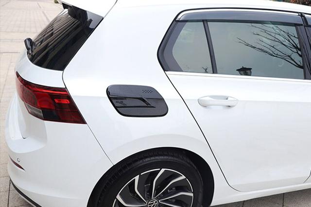VW GOLF8 カーボンスタイル フューエルタンクカバー ゴルフ8