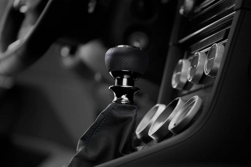 Leyo Motorsport ナッパレザー・ブルー/アルミビレット DSGシフトノブ GOLF7/PASSAT/POLO