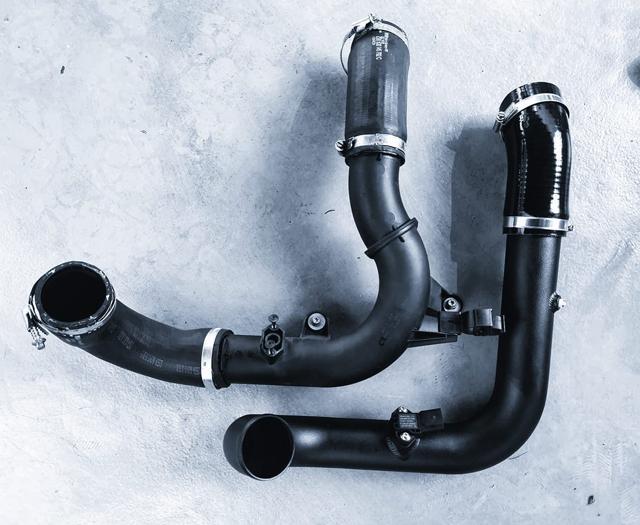 LEYO Motorsport フルターボチャージパイプ GOLF7.5-R