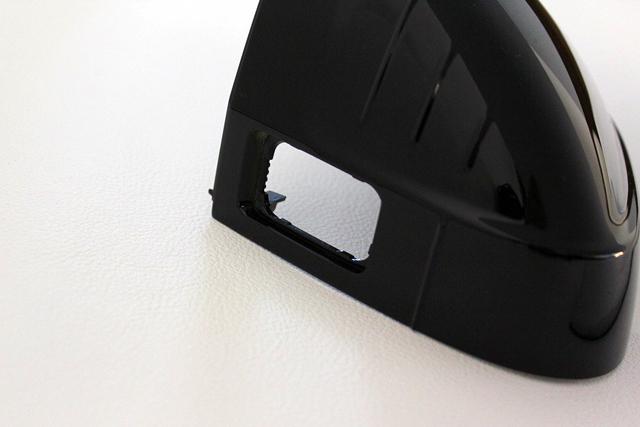 Audi A4/Audi A5 (B9) グロスブラック ミラーカバー サイドアシスト有