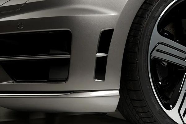 VW GOLF7R フロントバンパーサイドデカール