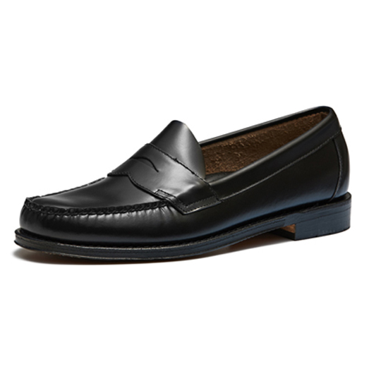 11035H LOGAN / BLACK (LEATHER SOLE)