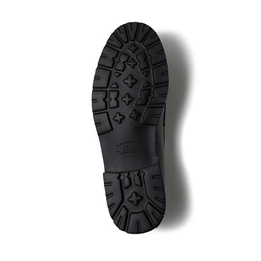 11525 / BLACK (RUBBER SOLE)