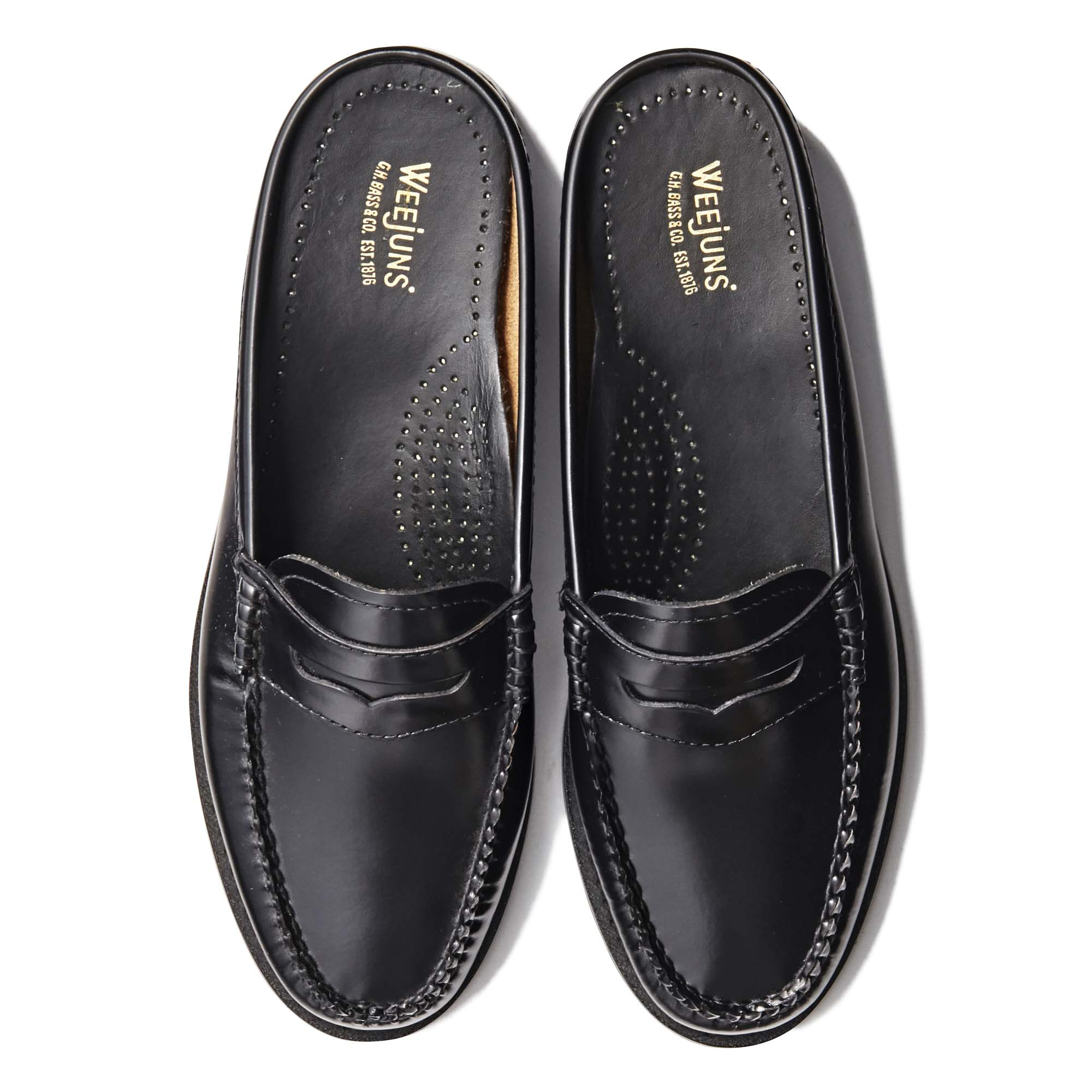 41000 / BLACK (LEATHER SOLE)