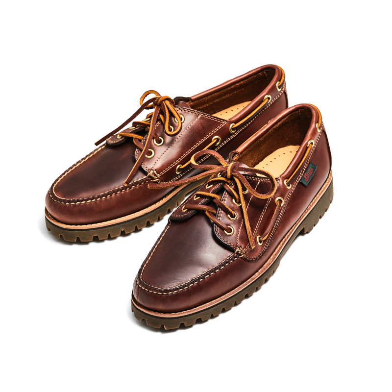 13011 RANGER MOC / DARK BROWN (RUBBER SOLE)