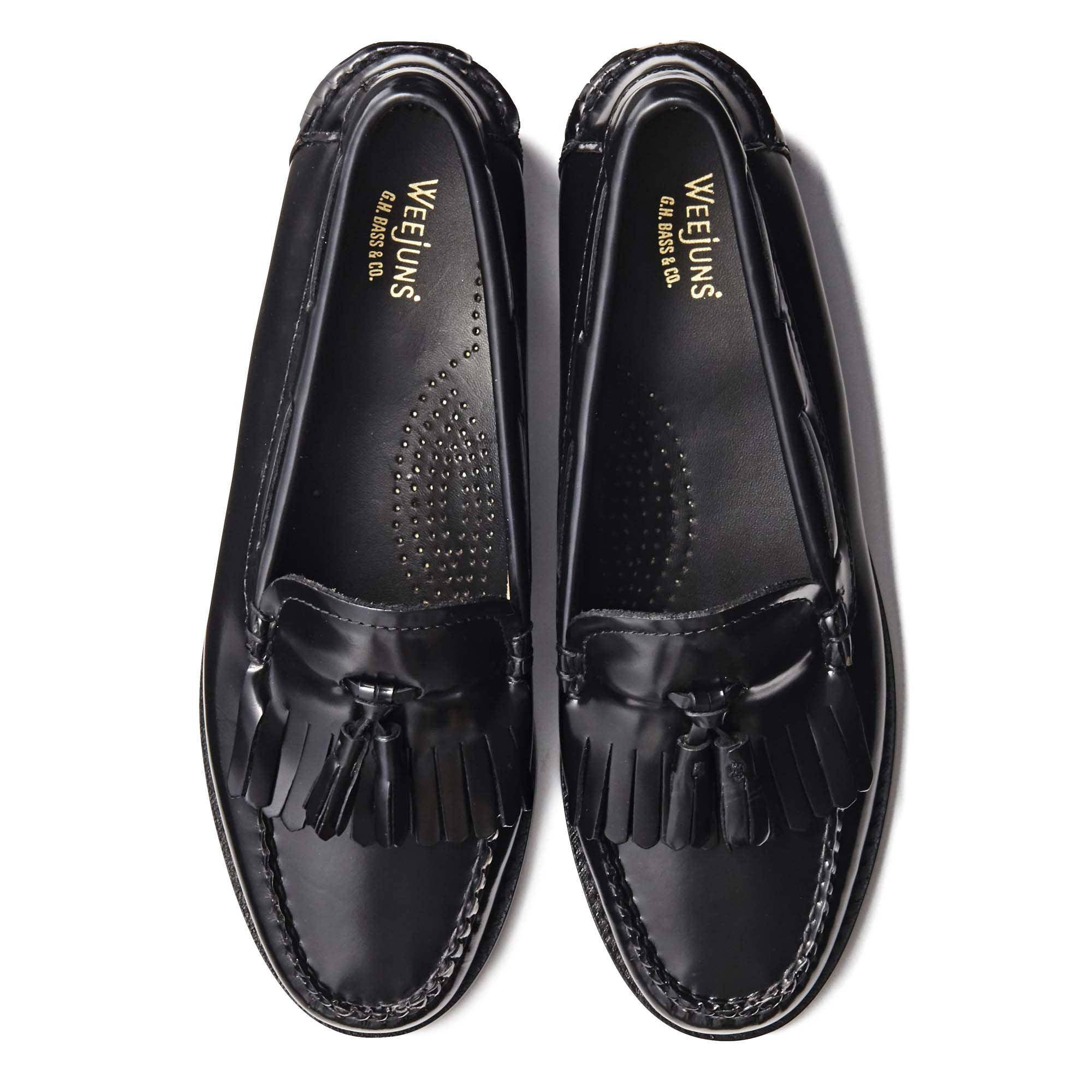 41020 / BLACK (LEATHER SOLE)