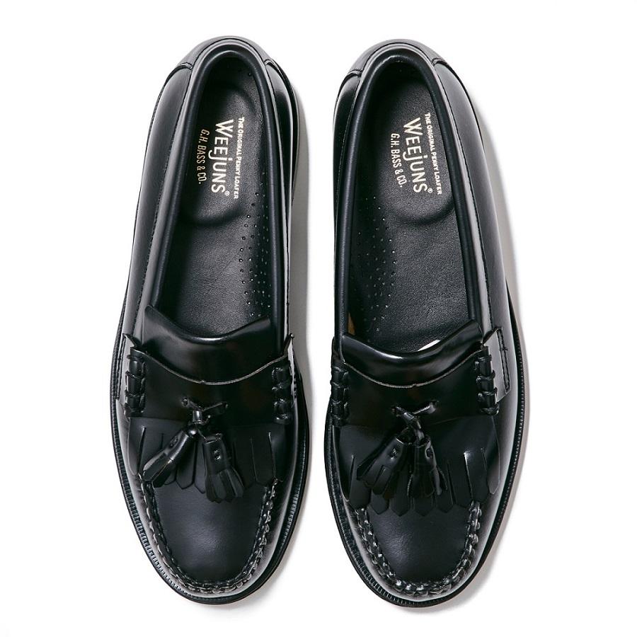 11025H LAYTON / BLACK (LEATHER SOLE)