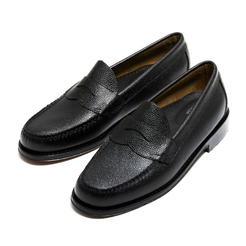 【日本限定商品】91038J LOGAN / BLACK GRAIN (LEATHER SOLE)