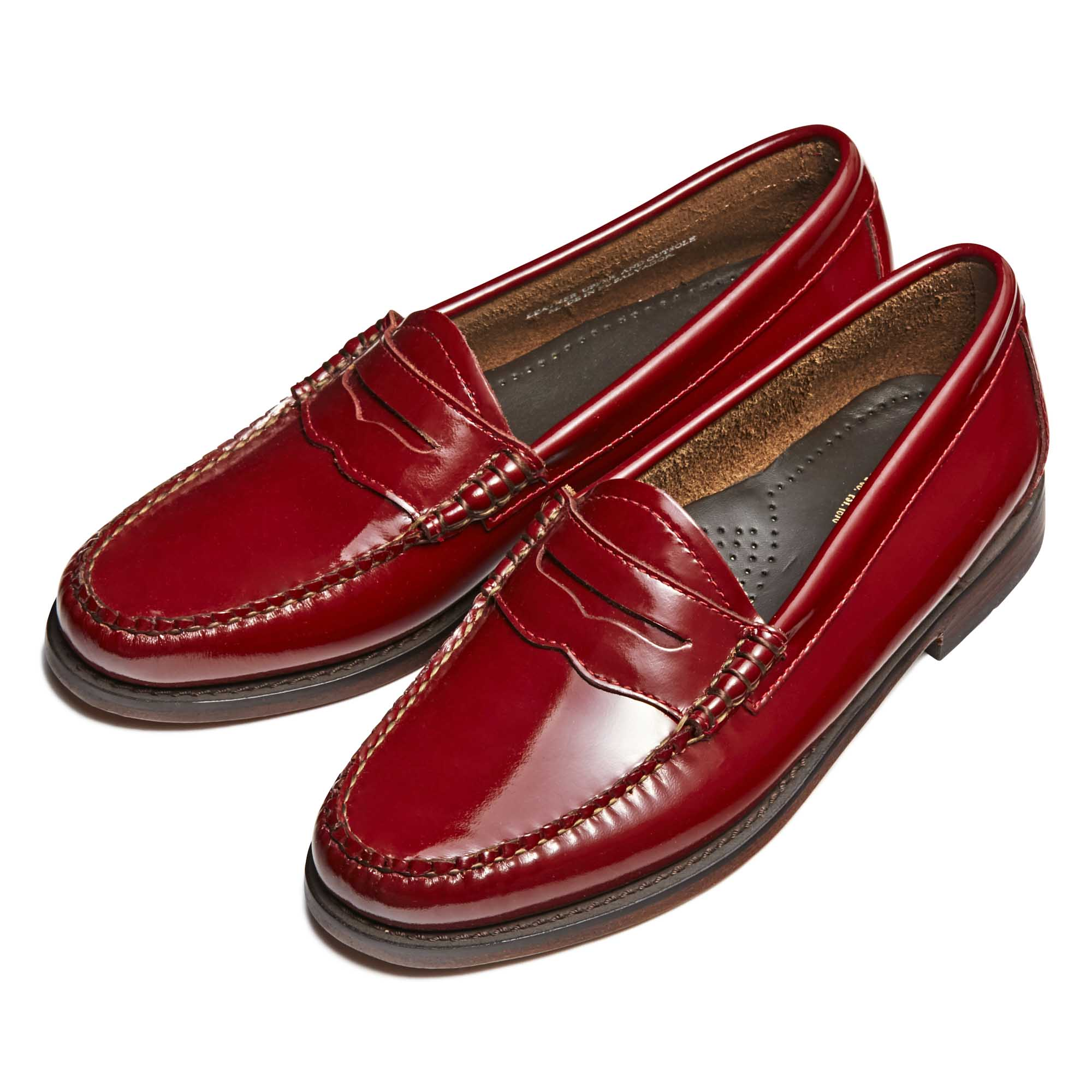 94010 / SPANISH RED PATENT (LEATHER SOLE)
