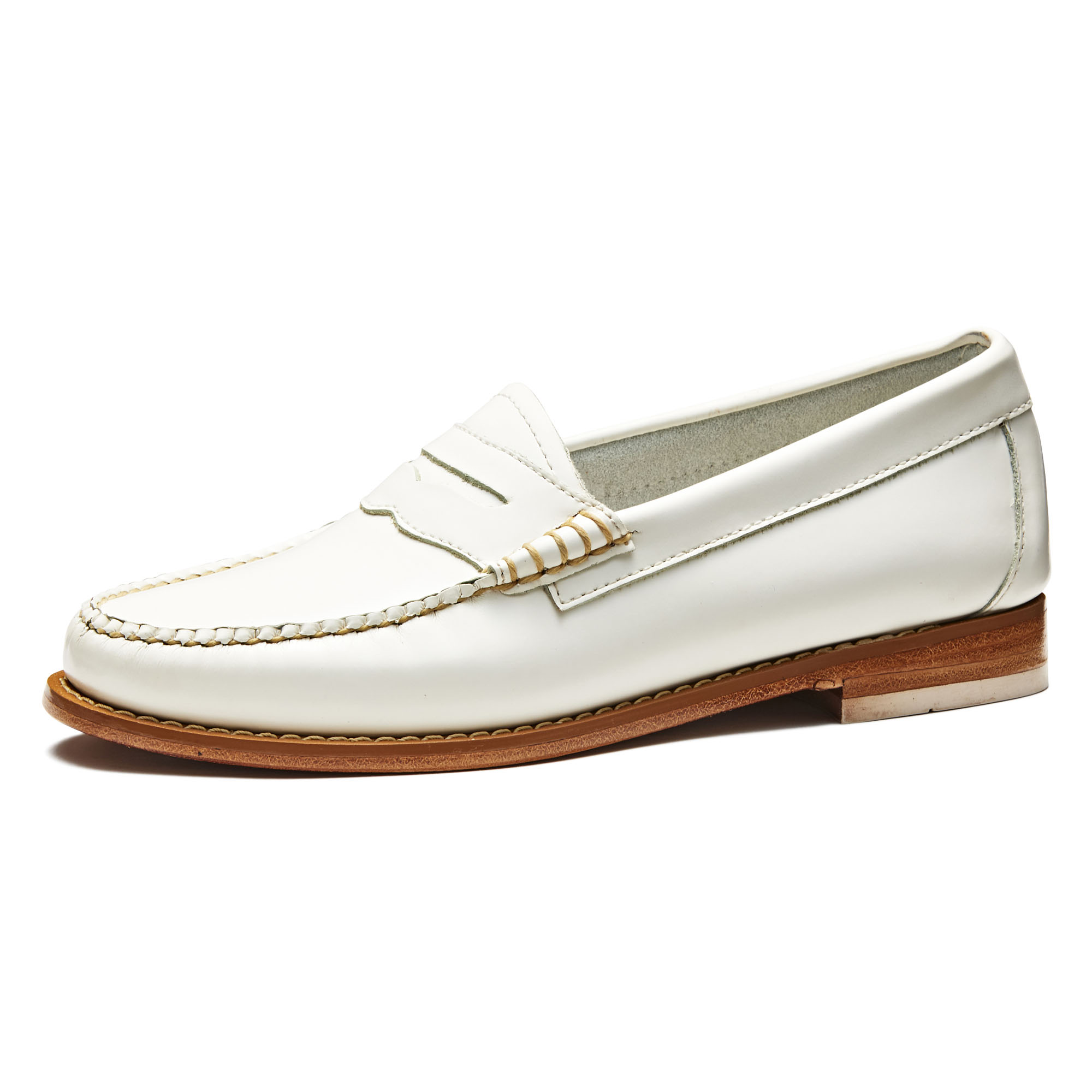 41010 / WHITE (LEATHER SOLE)