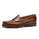 11010H LARSON / MID BROWN (LEATHER SOLE)
