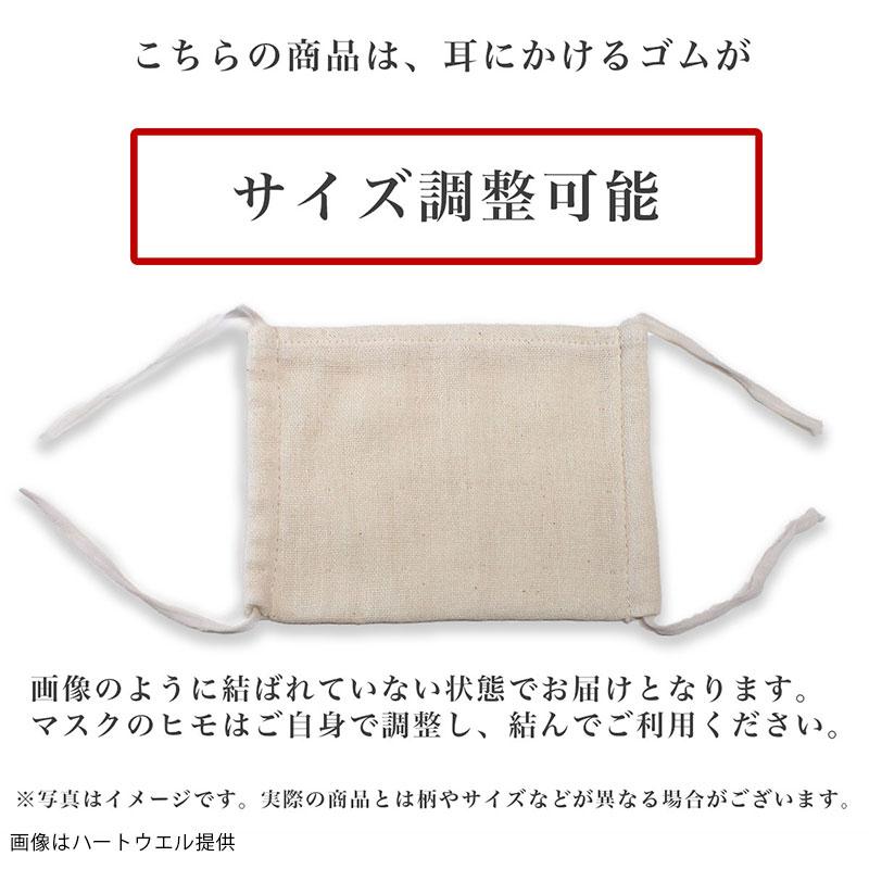 【オーガニック】抗菌ダブルガーゼマスク(標準サイズ)1枚 HWM02D(今治製)
