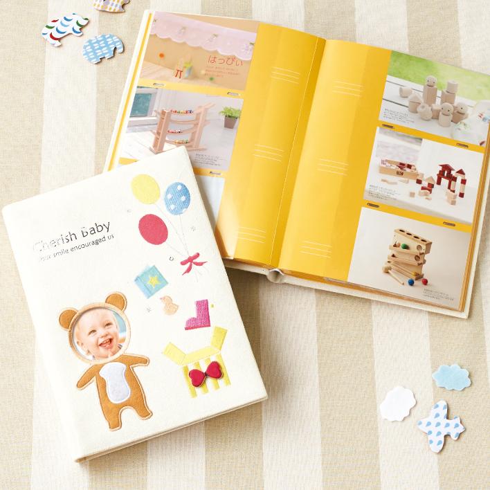 <出産お祝い用>Cherish Baby:ハッピーベア カタログギフト