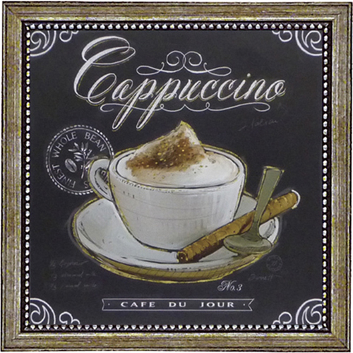 ミニゲルアートフレーム コーヒーハウスカプチーノ