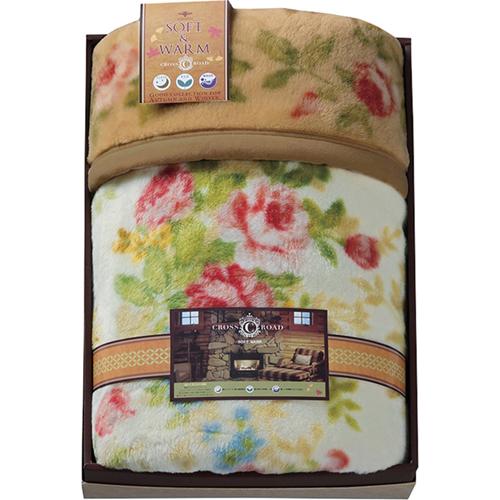 クロスロード 厚手のマイヤー毛布