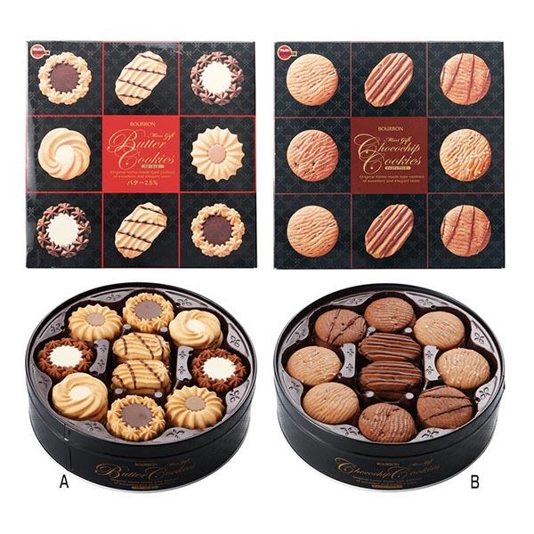 ブルボン ミニギフトクッキー缶 [A/バター]