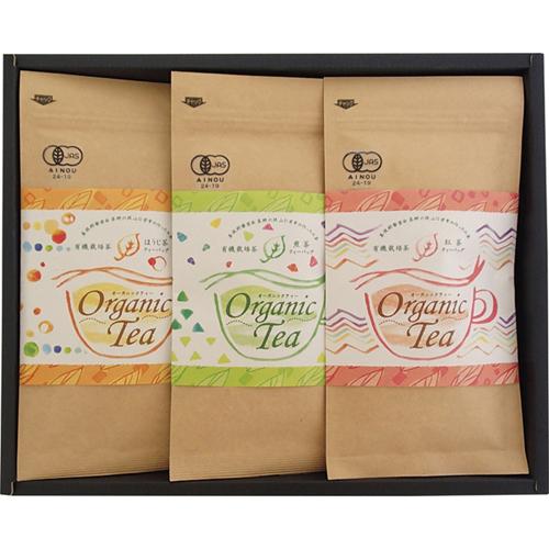 伊勢園 茶師六段の作った有機栽培茶詰合せ