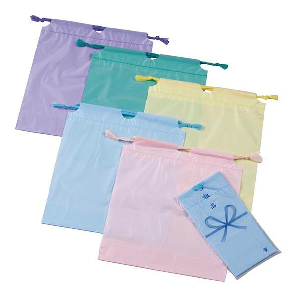 防水カラー巾着袋 [指定不可]