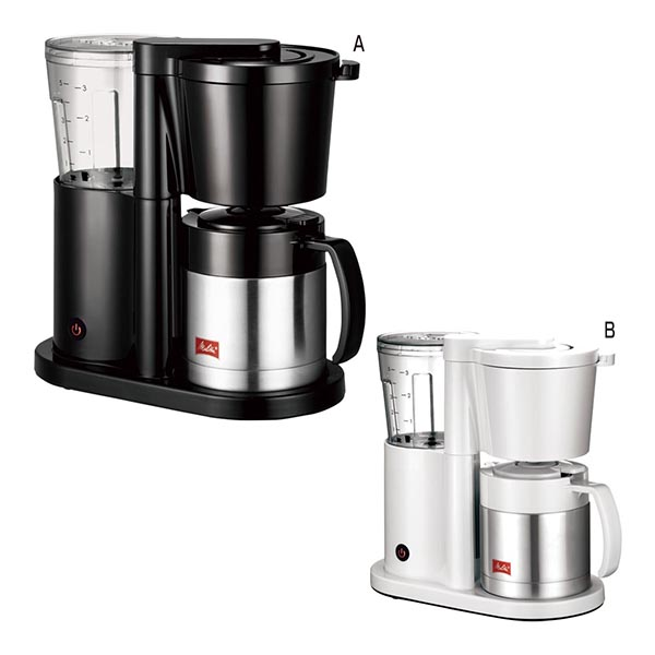 メリタ 5杯用コーヒーメーカー オルフィ [B/ホワイト]
