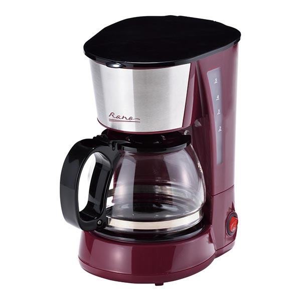 ラノー コーヒーメーカー 5カップ(ステンレス)